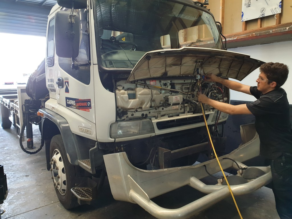 Truck Air Conditioning Repairs