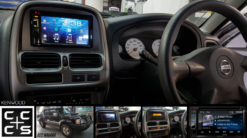 D22 Navara Headunit Upgrade