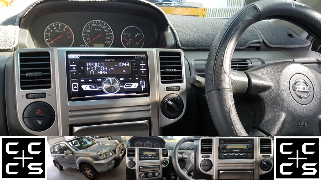 Nissan Xtrail Headunit Upgrade Kenwood